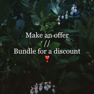 Offer & bundle for discounts!